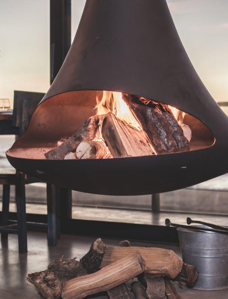 Système de chauffage bois particulier
